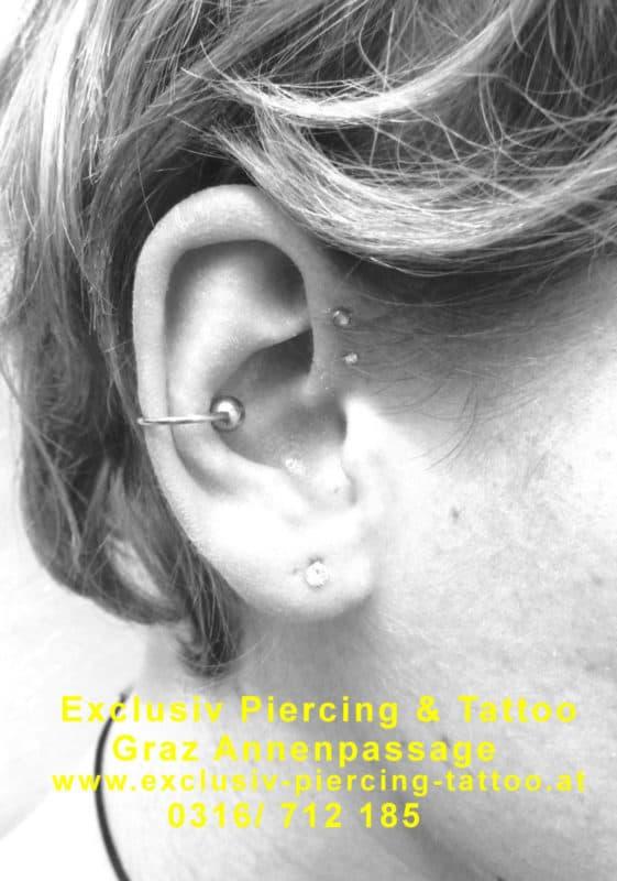 Ohr-Piercing